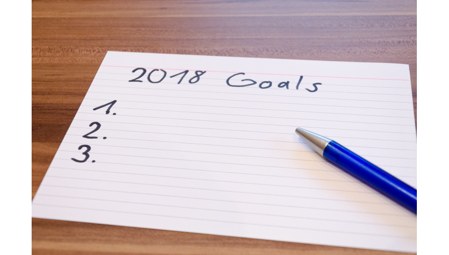 Have you set your goals for 2018?