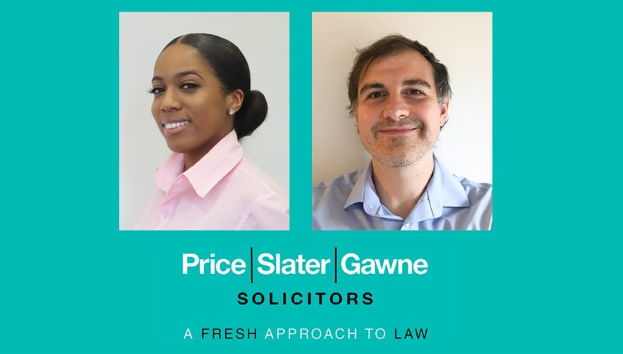 Aiesha and Stewart - Medical Negligence team